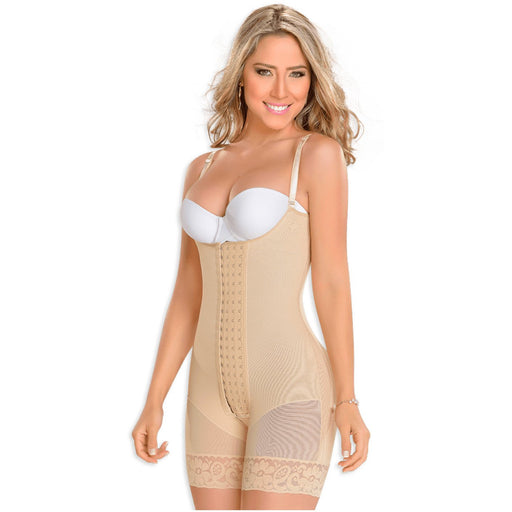 MYD 0083 Full Body Mid-Thigh Post Surgery Girdle For Women