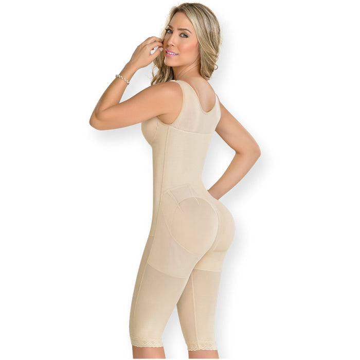 MYD 0120 Knee-Length Shapewear Bodysuit For Women