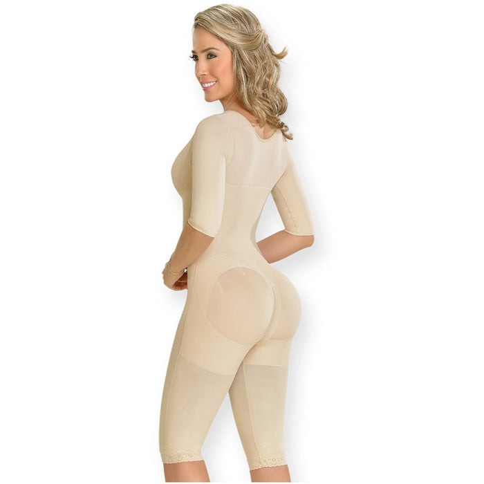 MYD 0161 Full Body Shaper With Bra And Sleeves For Women