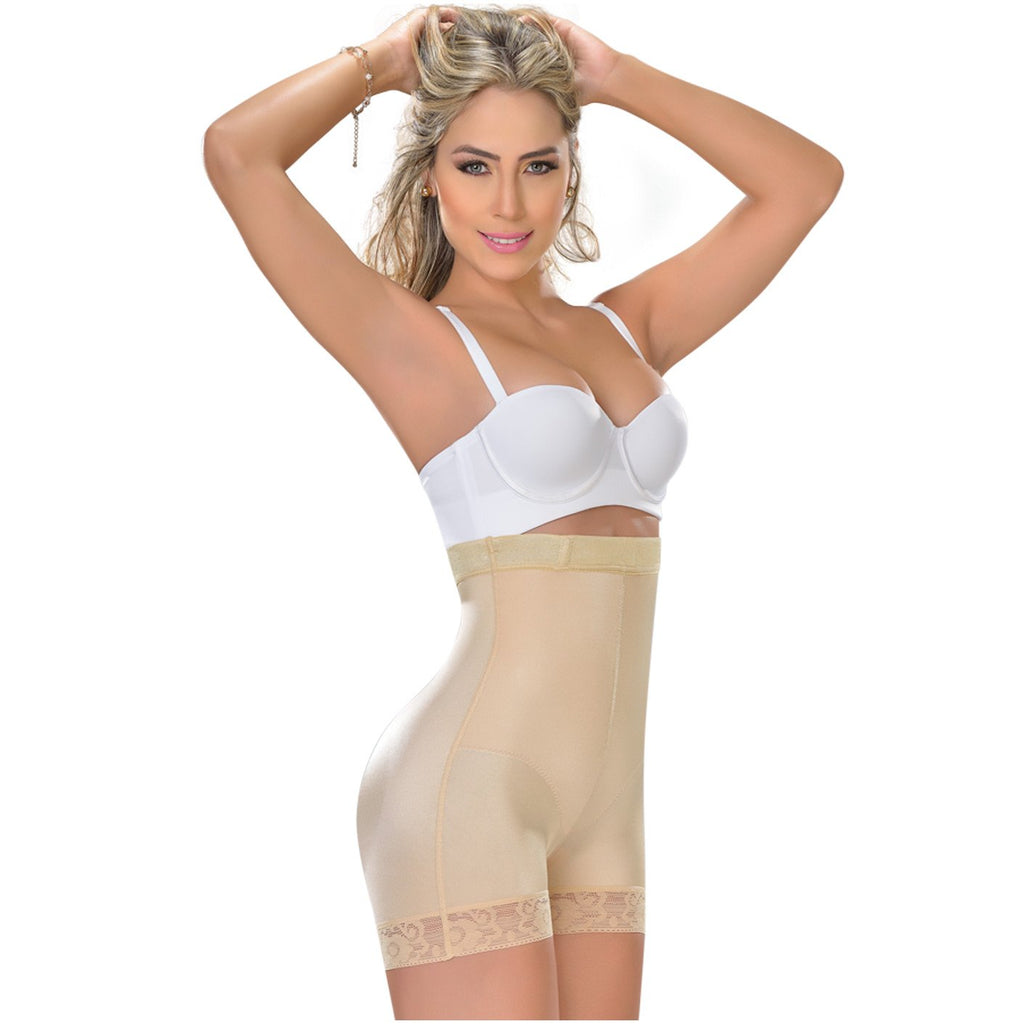 Fajas MYD 0216 | High Waisted Shapewear Shorts For Women - Shapes Secrets
