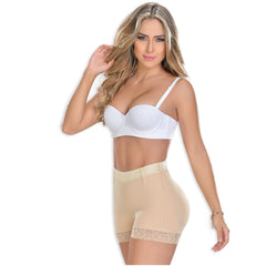 MYD 0321 | Mid Rise Shapewear Shorts For Women - Shapes Secrets