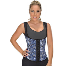 Fajas MYD 0555 | Latex Waist Trainer Vest for Working Out - Shapes Secrets