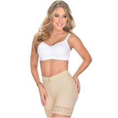 Fajas MYD 3722 | Mid Rise Shapewear Butt Lifter Boy Shorts For Women - Shapes Secrets