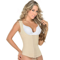 Fajas MYD 0055 | Womens Waist Cincher Thong - Shapes Secrets