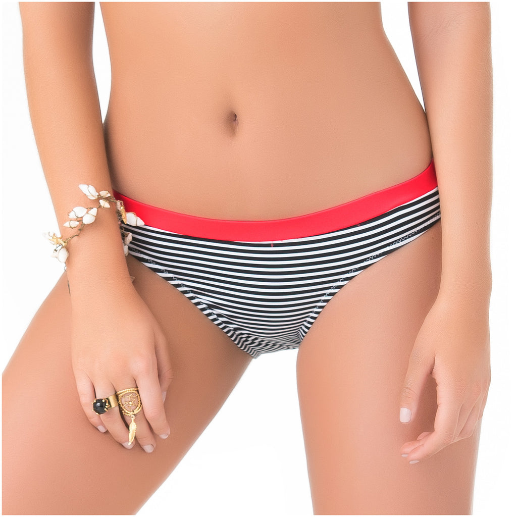 PHAX 11340033 Cheeky Striped Bikini Bottoms