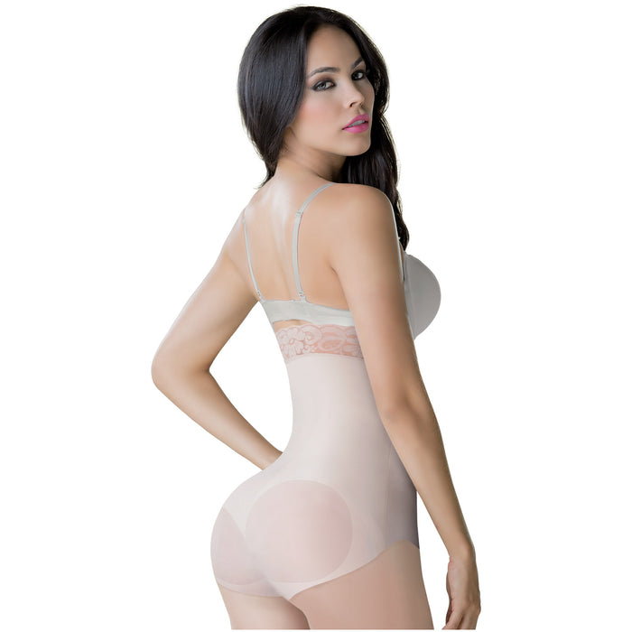 Romanza 2061 Strapless Bodysuit Tummy Control Shapewear for Women