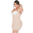 Fajas Salome 0217 Colombian Tummy Control Postpartum Shapewear for Women