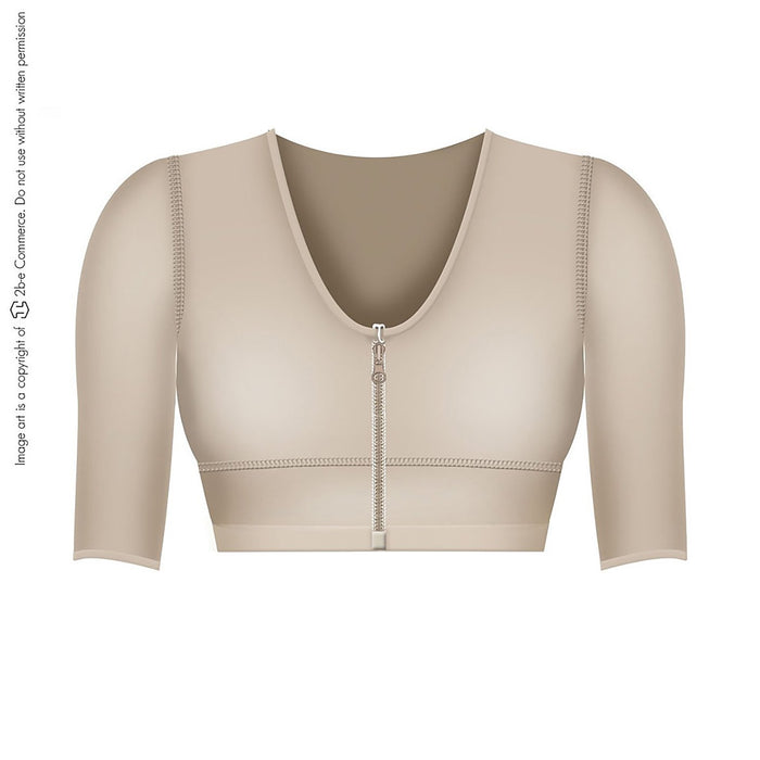Fajas Salome 0328-3 |  Post Surgical Bra with Sleeves