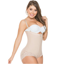 Fajas Colombianas Salome 0412 | Strapless Shapewear Bodysuit Hiphuggers - Shapes Secrets