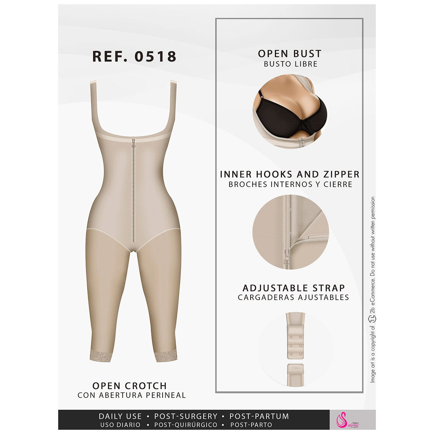 Colombian Lipo Compression Garment P