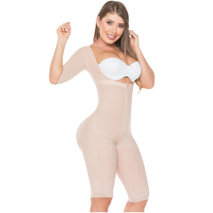 Fajas Salome 0525 Colombian Lipo Compression Garment Post Surgery Shapewear for Women