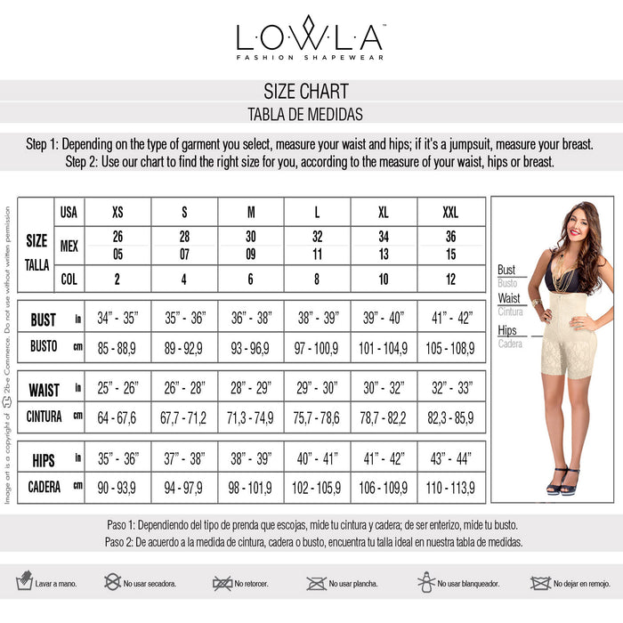 Lowla 1202 | One Piece Compression Swimsuit For Women