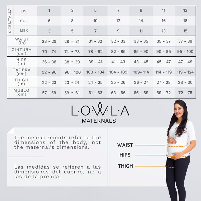 Lowla M219898 | Women Maternity Skinny Jeans with Belly Panel