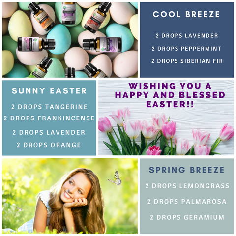 Springtime Essential oil recipes