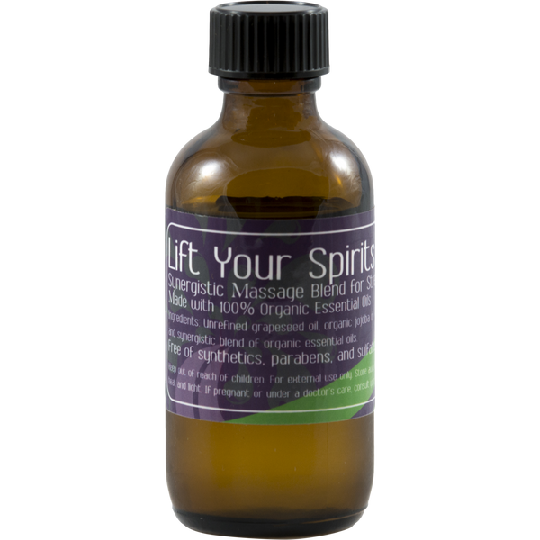 Lift your spirits massage blend
