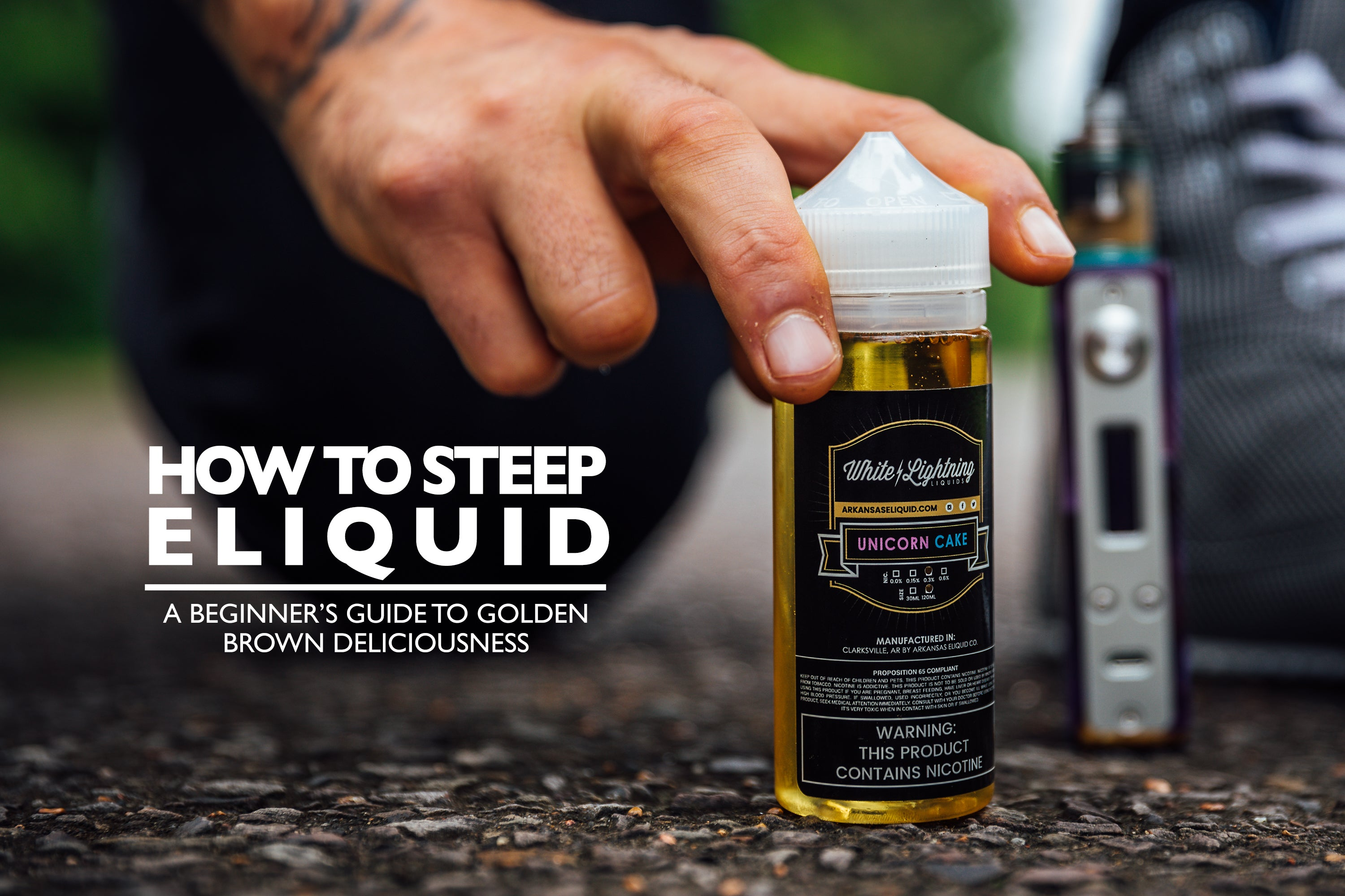 A Beginner's Guide To Steeping E-Liquids