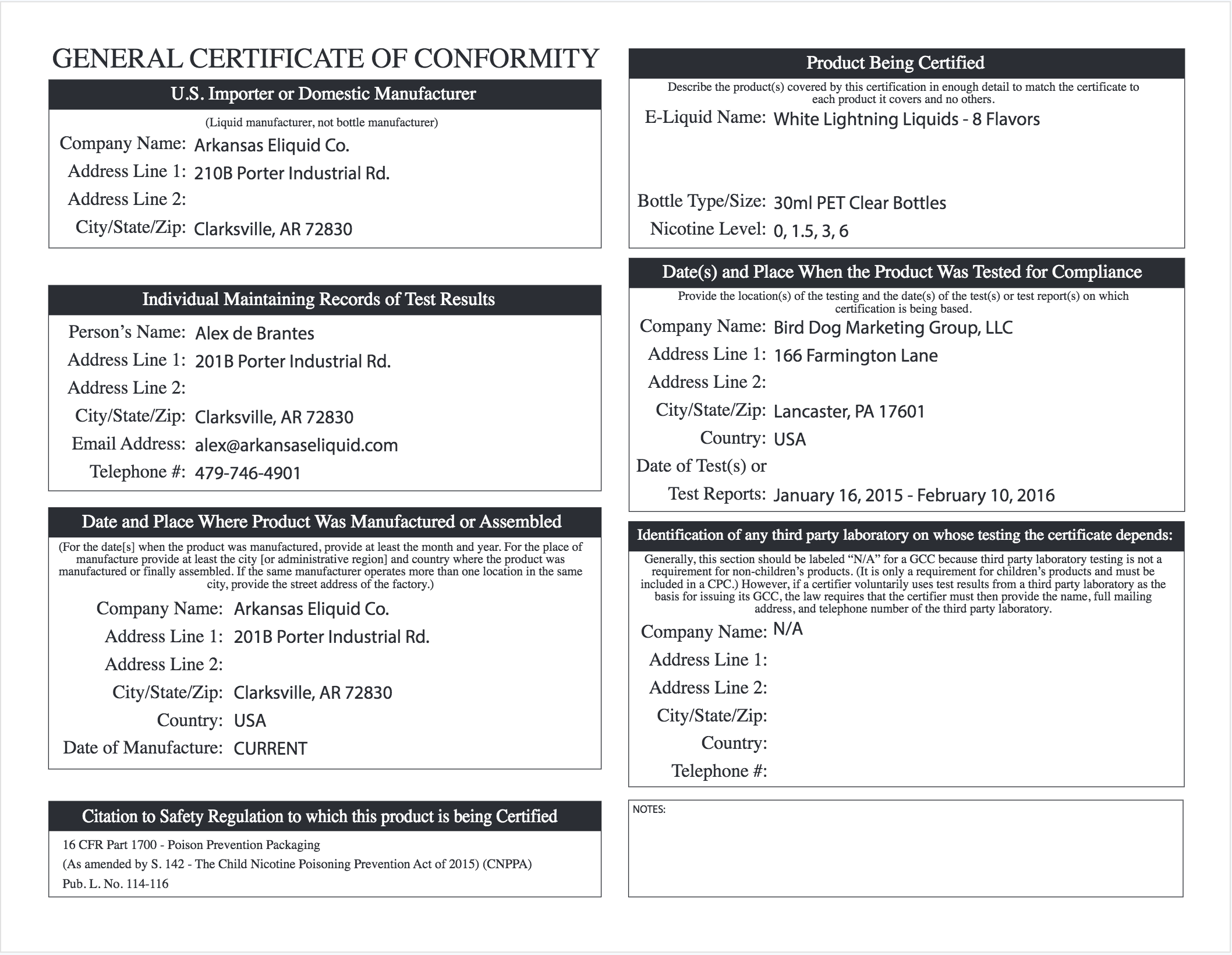 Gccs and certifications ar eliquid co gccs and certifications 1betcityfo Images