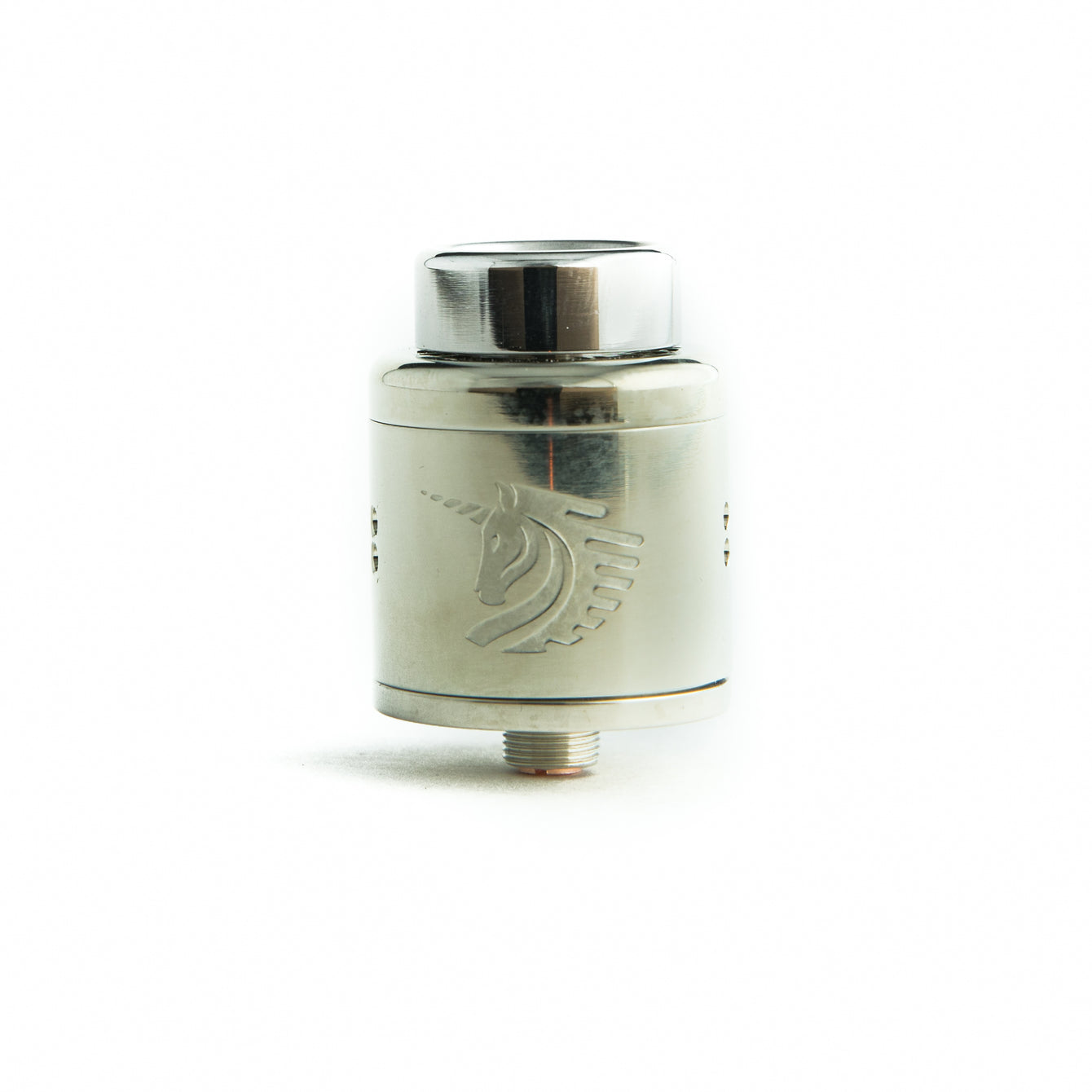 White Brass 25mm Unicorn RDA