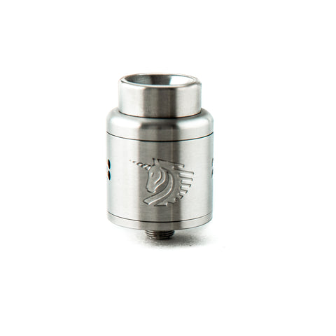 24mm Brushed Stainless Steel Unicorn RDA