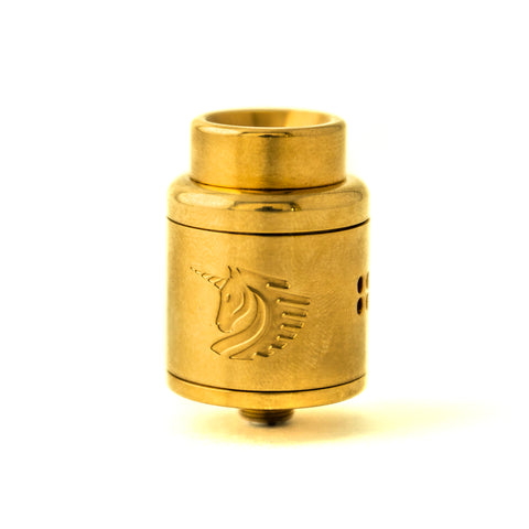 25mm Polish Gold Unicorn RDA