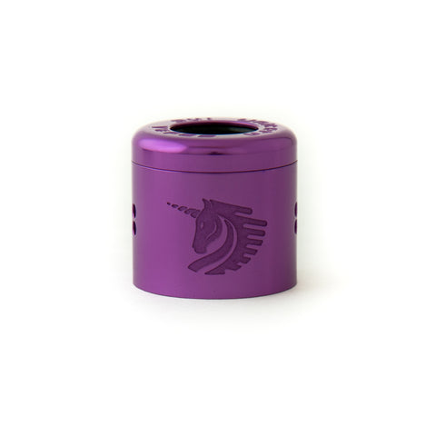 25mm Purple Cap -  25mm Unicorn RDA