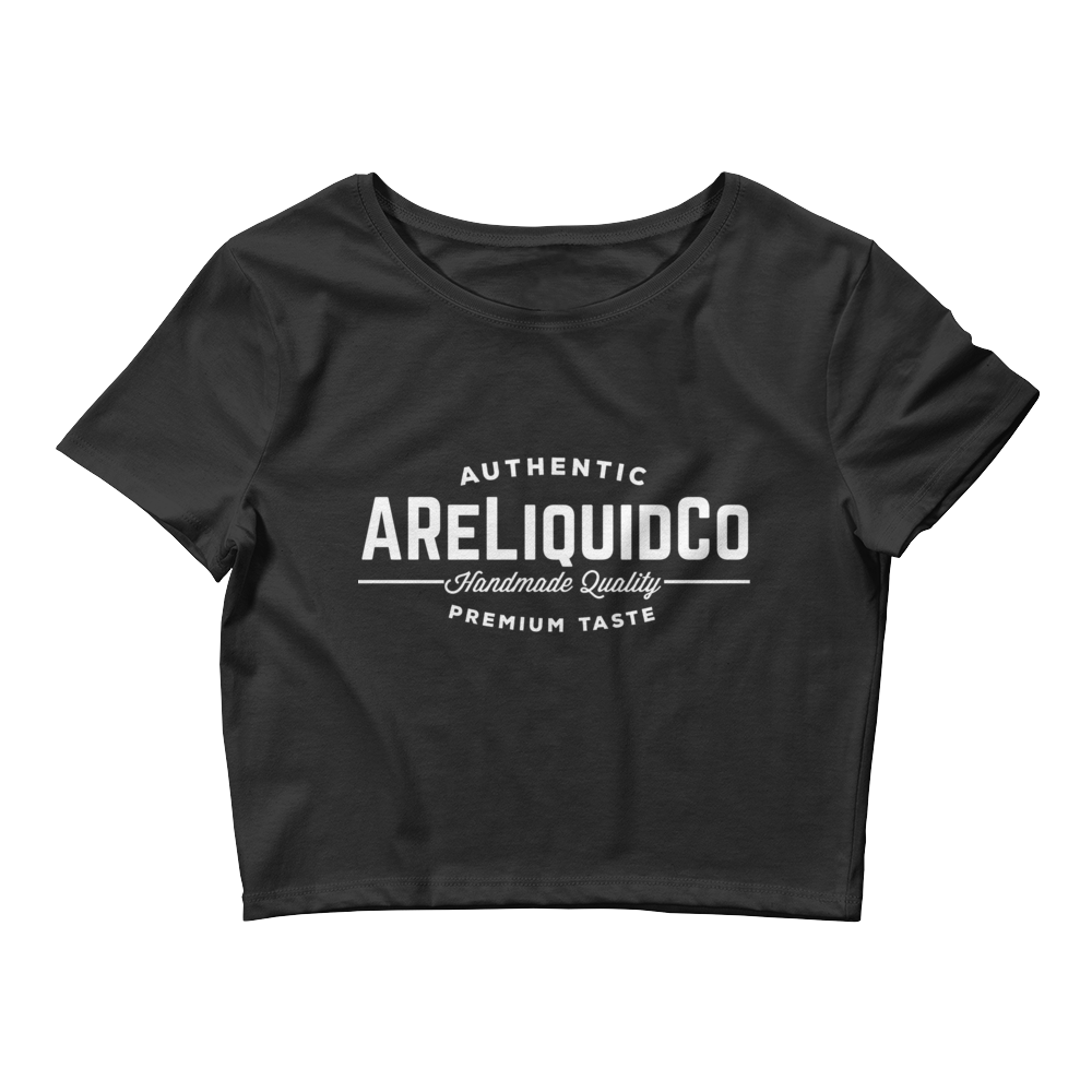 Women's Crop Tee With AReLiquid Co. Logo