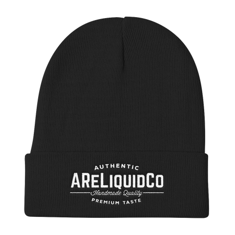 Knit Beanie With AReLiquid Co. Logo