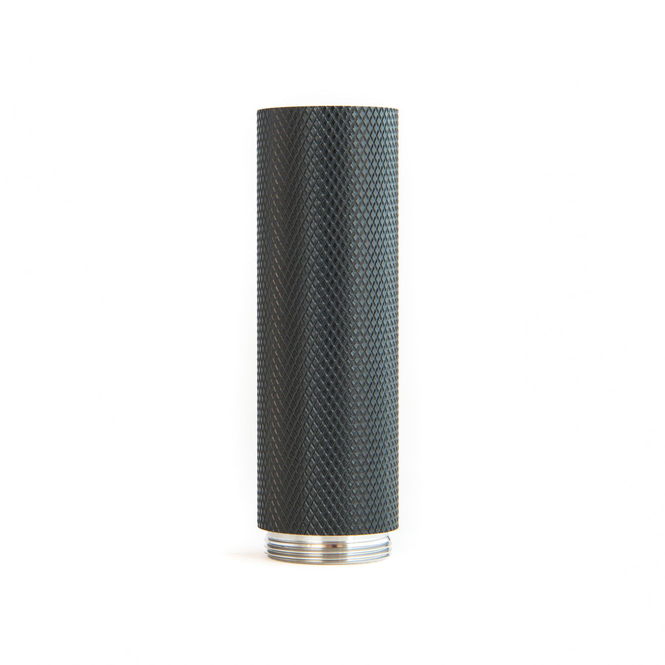 18650 Black Knurled MDX Stack Piece