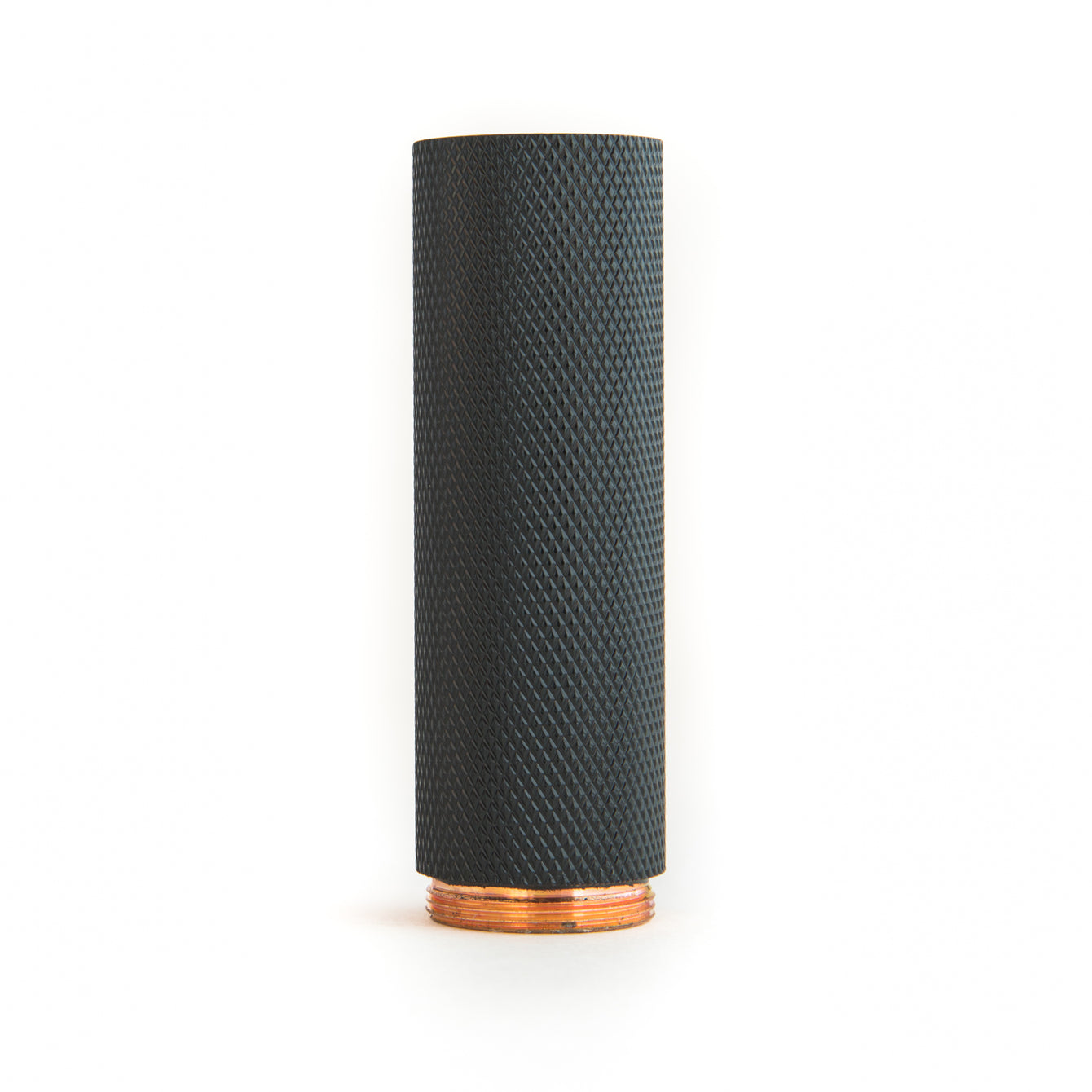 3-1 Copper Knurled Painted Black MDX Stack Piece