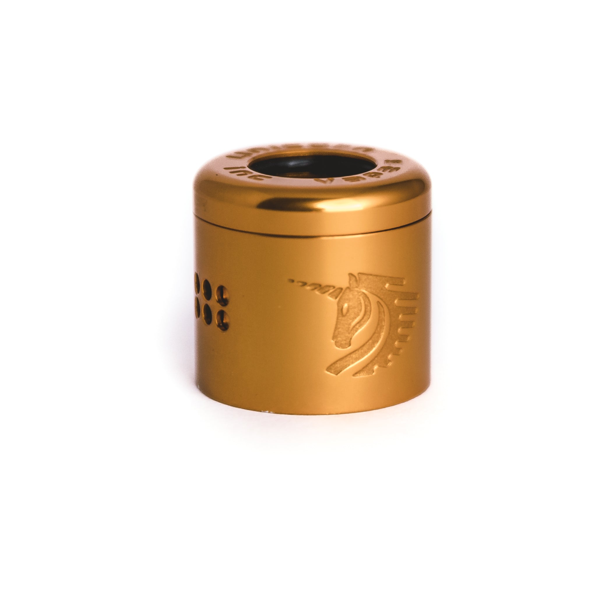gold top cap unicorn rda