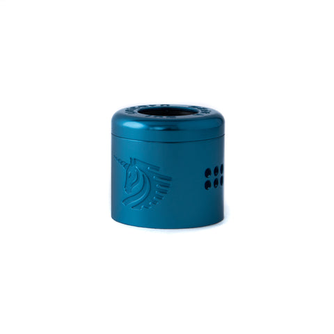 25mm Light Blue Cap - 25mm Unicorn RDA