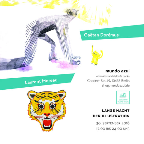 Lange Nacht der Illustration Berlin 2016 - Berlin Illustration night on September 30th, 2016