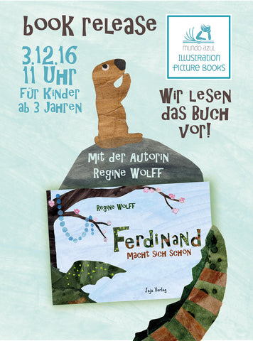Reading in German: Sat., Dec. 3rd, 11am. 3-6 years old.