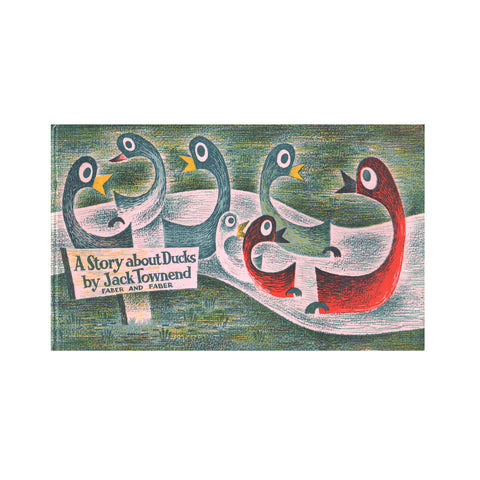 """A story about Ducks"" by Jack Townend/ V&A Publishing  / Kinderbuch Englisch"