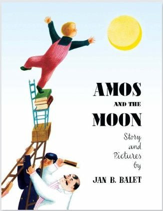 """Amos and the moon"" Jan B. Balet / AMMO / Kinderbuch Englisch"
