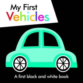 """My First Vehicles (Black and White Books) "" / Bilderbuch für die Kleinen / Englisch"