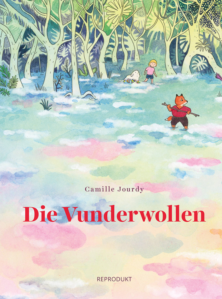 Die Vunderwollen / Comic Deutsch / Camille Jourdy