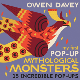 My First Pop-Up Mythological Monsters / Kinderbuch Englisch / Owen Davey