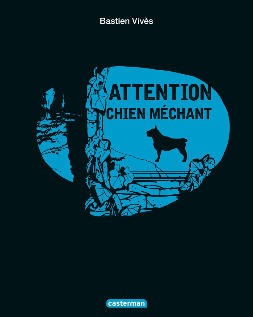 """Attention, Chien méchant"" Bastien Vivès / Kinderbuch Französisch"