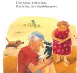 The Oldman and the Penguin/ Julie Abery / Kinderbuch Englisch / Kids Can Press