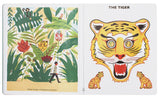 """Masks in the Forest: A Story Told with Masks"" Laurent Moreau / Kinderbuch Englisch"