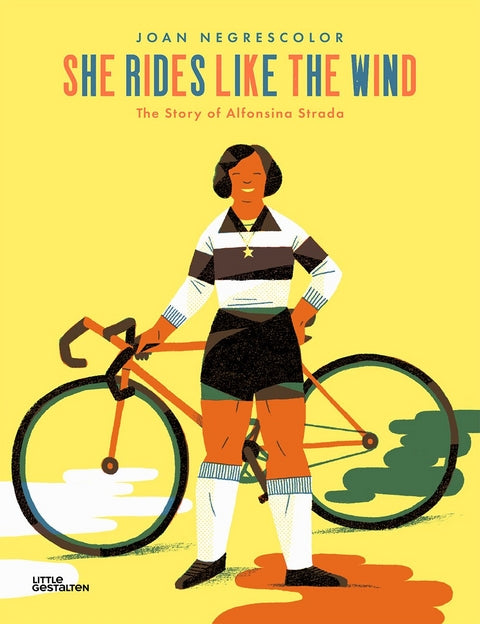 She rides like the wind / Kinderbuch Englisch / Joan Negrescolor