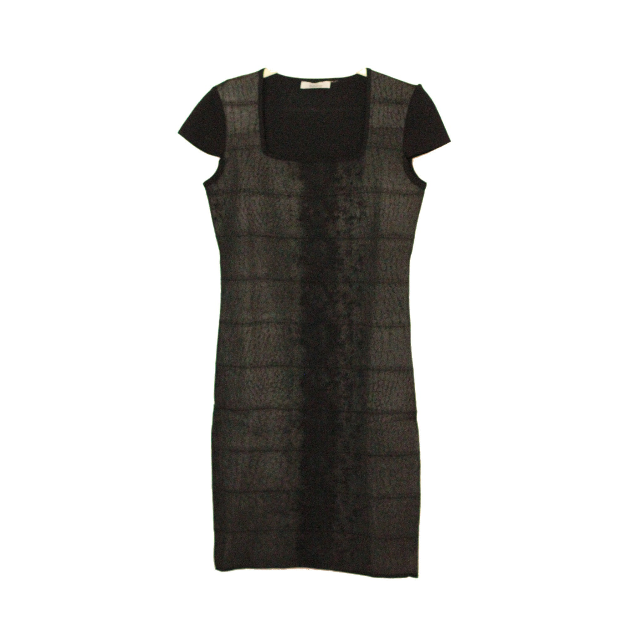 SL-04 Snake Short Sleeve Dress