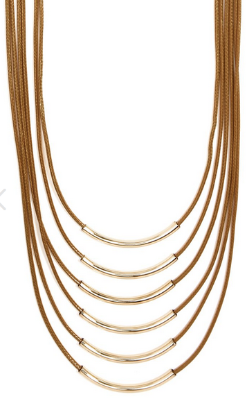 ZZ-N2345  Layered Luxury Long Necklace