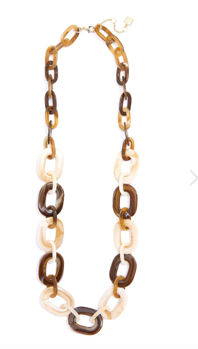 ZZ-2474 Marbled Moment Long Necklace $48.00