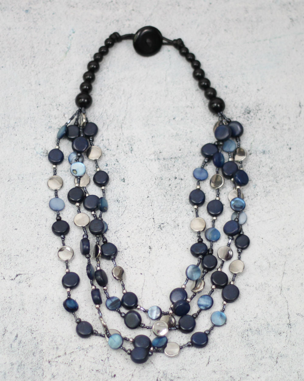 SY- Blue Willa Necklace