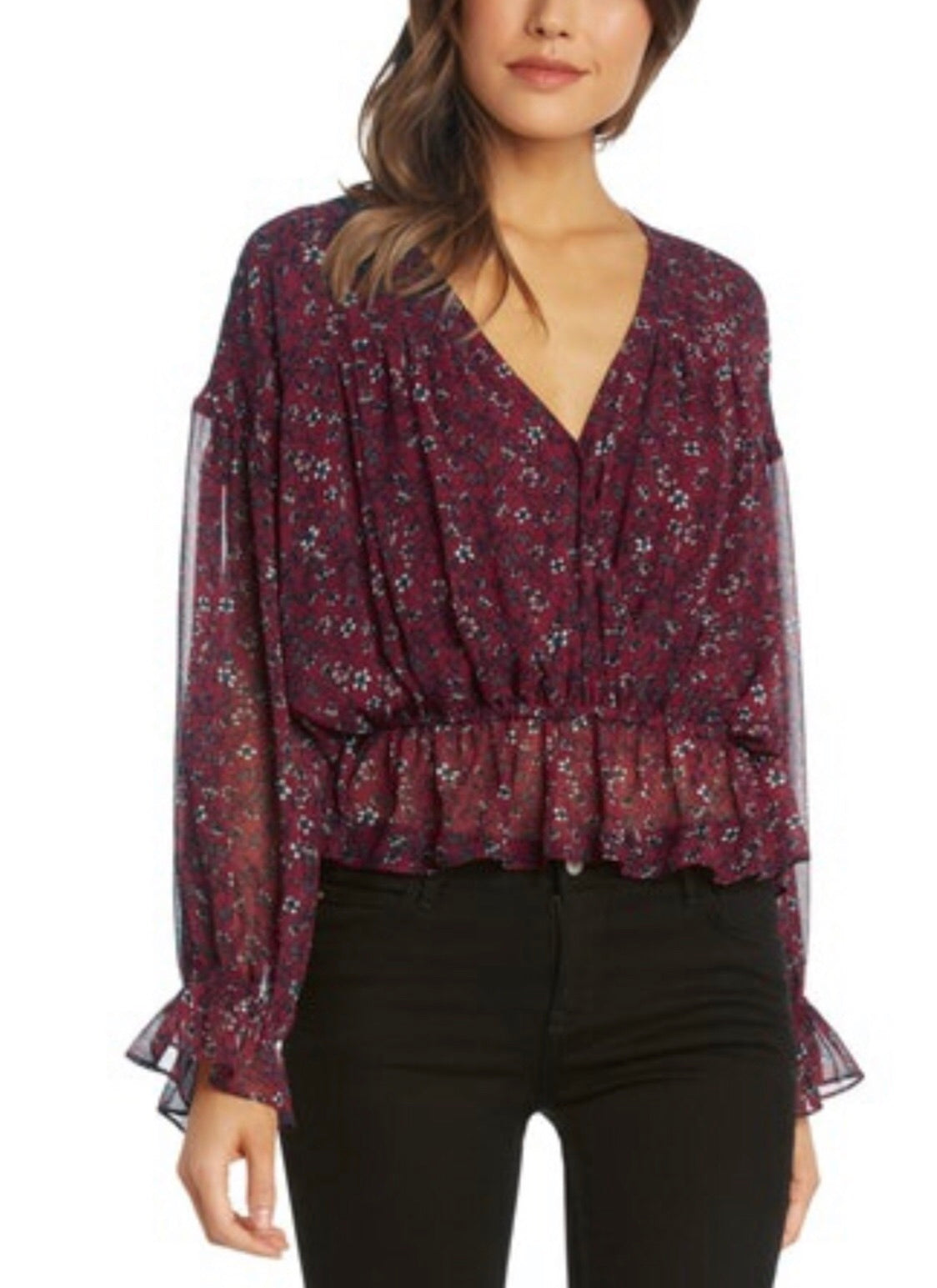 WC-Spice wrap Blouse