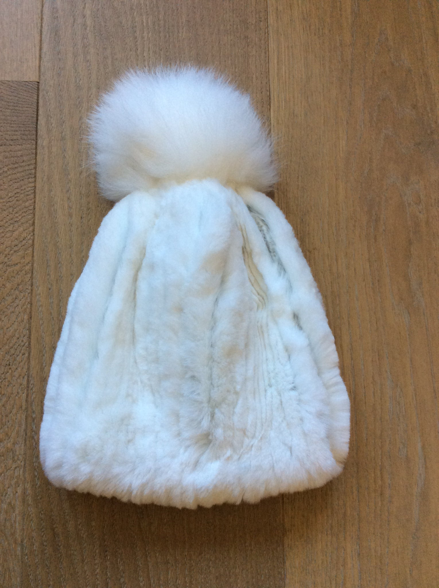 MM-KSH16 Lined Beanie Rabbit HAt