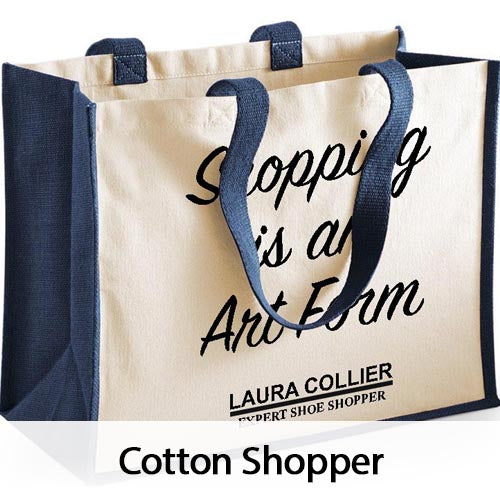 Personalised Cotton Shopper Bags