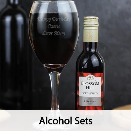 Personalised Alcohol Sets